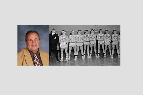 Terry Conklin/First Viking Basketball Team