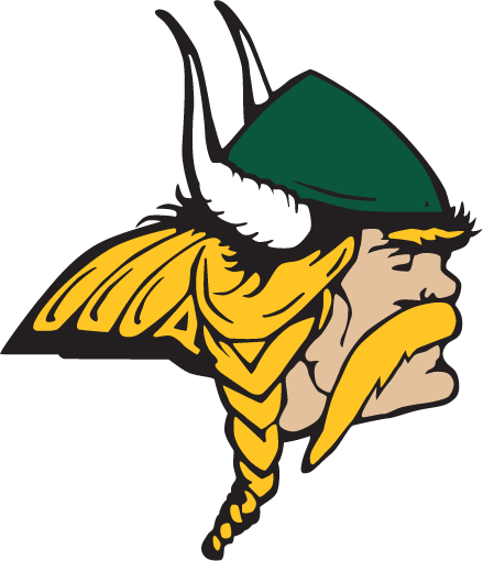 Glen Oaks Viking logo - color