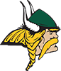 Glen Oaks Viking logo - color (mini)