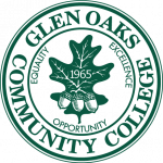 Glen Oaks Seal - green