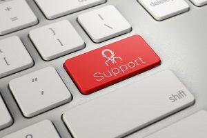 Support Button on keyboard key