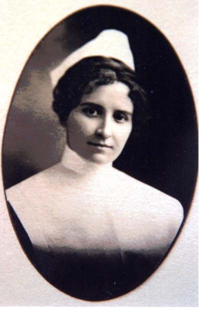 Portrait of Lucie Olney, RN