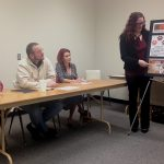 CTE graphic design students participate in panel review
