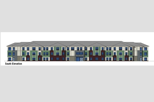 Achitects rendering of proposed dormitories.