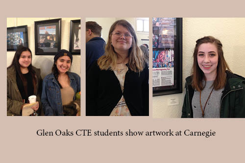 CTE art students at Carnegie