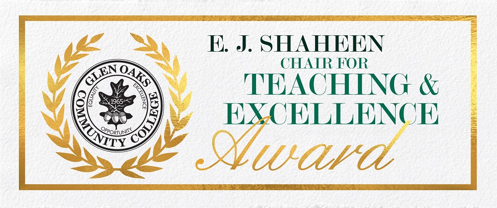 E.J. Shaheen Chair for Teaching Excellence Award