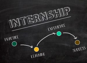 Internships lead to increased practice, learning, experience, and success