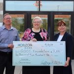 Horizon Bank selects Glen Oaks Community College Foundation to receive donation