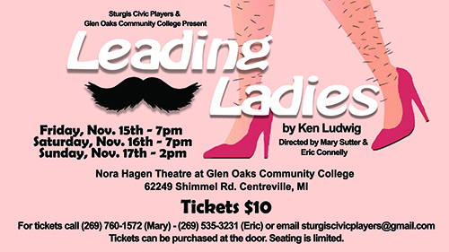 Leading Ladies promotional flyer