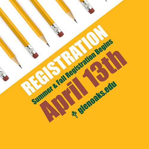 Registration begins April 13