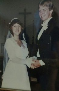 Larry and Alise Wingfield (wedding picture)