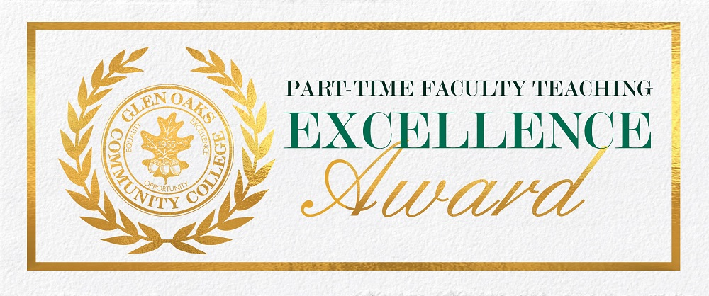Part-Time Faculty Teaching Excellence Award