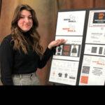 CTE graphic design students present branding design projects to judges